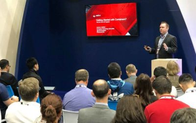 Gartner ITxpo (CIO Symposium) – Containers Containers Containers