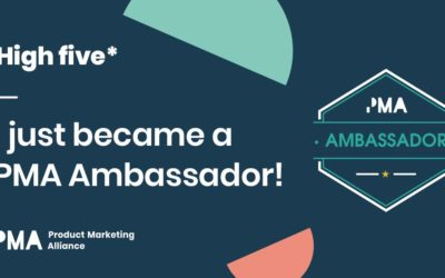Becoming a Product Marketing Ambassador!