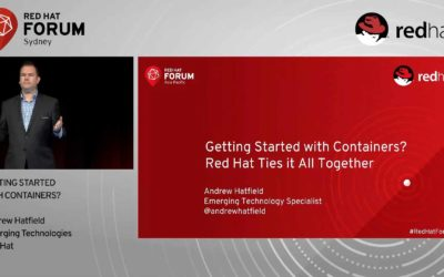 Getting Started With Containers and How Red Hat Ties It All Together