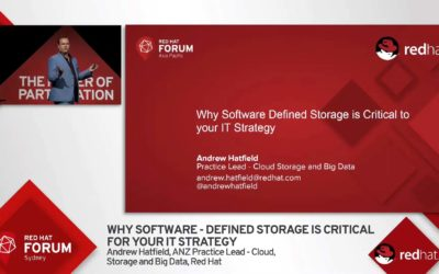 Why Software Defined Storage is Critical for your IT Strategy