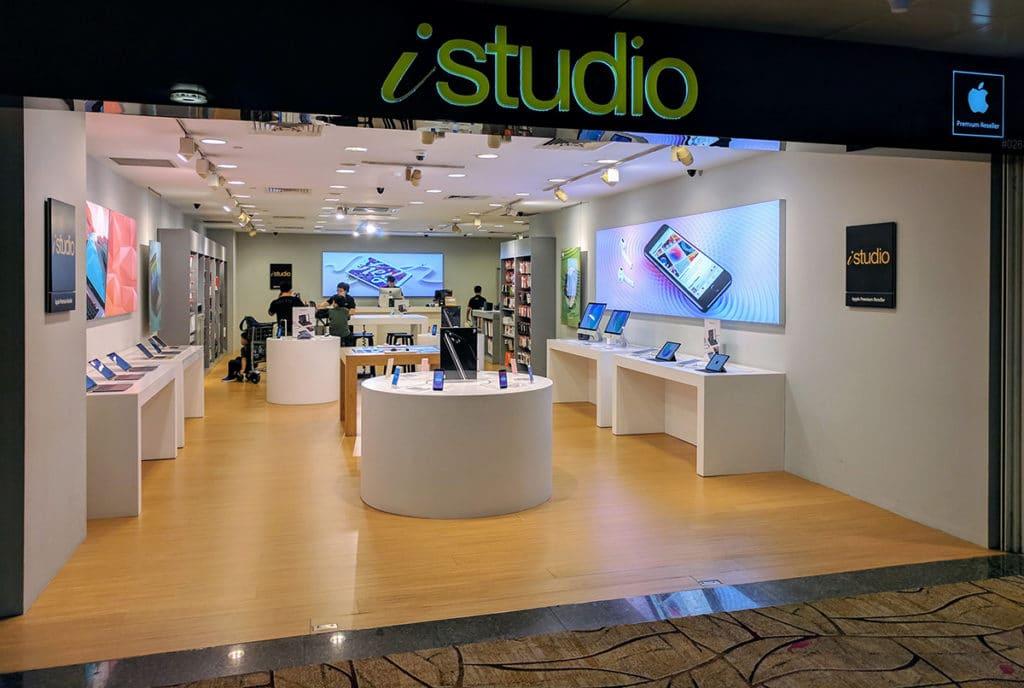 iStudio in Changi Airport Singapore