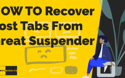 How to recover lost tabs from The Great Suspender